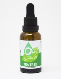 O My! 100% Pure Essential Oil 1oz - Tea Tree | Bundle of 3 | O My! 100% Pure Essential Oil1oz  Bottles with Graduated Droppers | Child-resistent, Tamper-proof | Start your Aromatherapy Plan today!
