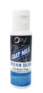 O My! Goat Milk After Shave Lotion SS - Ocean Blue | Bundle of 3 | Lather with Goat Milk After-Shave Lotion | Paraben Free | Shea Butter & Vitamin E | Leaping Bunny Certified | Handmade in USA