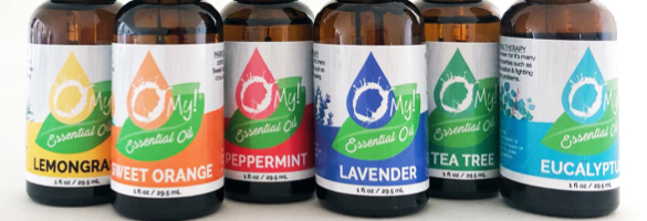 O My! Essential Oils with Graduated Droppers