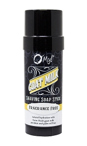 O My! Fragrance Free Goat Milk Shaving Soap Stick - 2.25oz