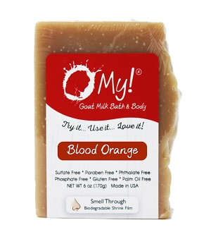 O My! Blood Orange Goat Milk Soap