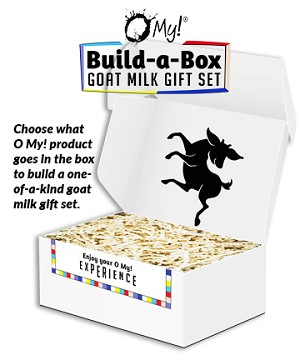 O My! Build-A-Box - Choose your goat milk bath and body options